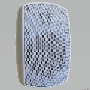 Australian Monitor FLEX50W 50W Wall Mount Speaker. IP65 Rated White, Sold in Pairs