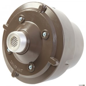Australian Monitor HDT60 Horn Driver 60W, IP66 Rated Constant voltage 60 watt high output with 100V with taps. For H16 or HK16 horn flare