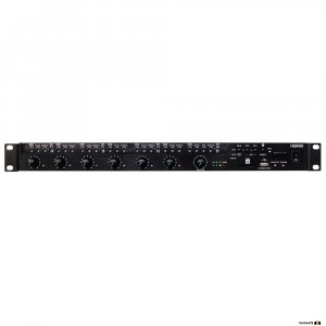 Australian Monitor HSMIX Rackmount 1RU, 9 inputs channels, 12V phantom power, B/Tooth, MP3.