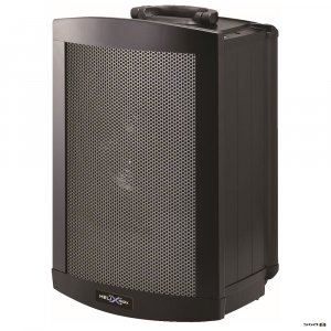 parallel helix 1510x pa system with bluetooth, usb player front view