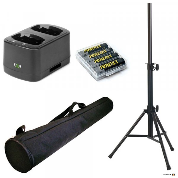Parallel Audio HX-10 Pack Deluxe accessory pack for Helix 1510x & 2510 Series PAs.
