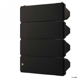 TOA HX7BWP 750W Blk Variable Dispersion Spk, IPX4, Sealed, 8 Ohm, 105Hz-20kHz, 100dB