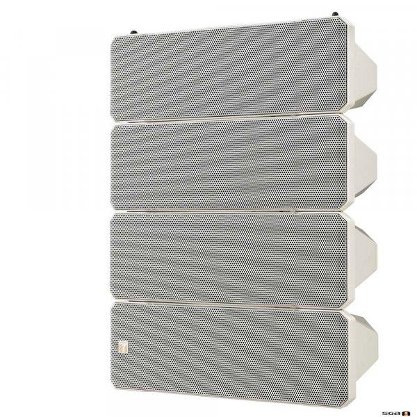 TOA HX7WWP 750W Variable Dispersion Spkr, IPX4, Sealed, 8 Ohm, 105Hz-20kHz, 100dB.