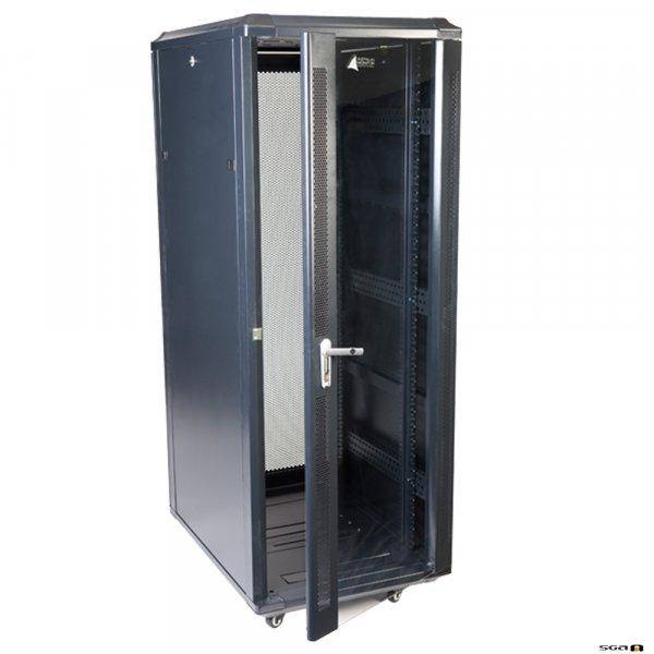 Australian Monitor INT32 32U Integrator Rack Floor Mounted. Installation Equipment Rack 32RU Floor Standing 800mm deep
