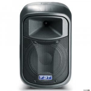 "FBT J8A Active speaker is a two-way 8"" black"
