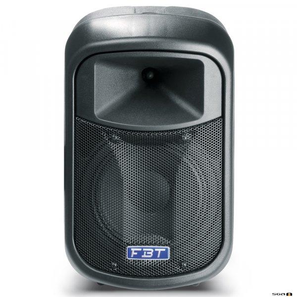 "FBT J8A Active speaker is a two-way 8"" black"