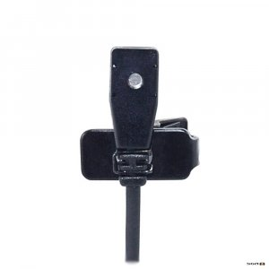 Parallel Audio LP520 Professional slimline electret lapel mic, comes with lapel clip, windsock and TA4F termination for connection to Parallel Audio bodypack transmitters
