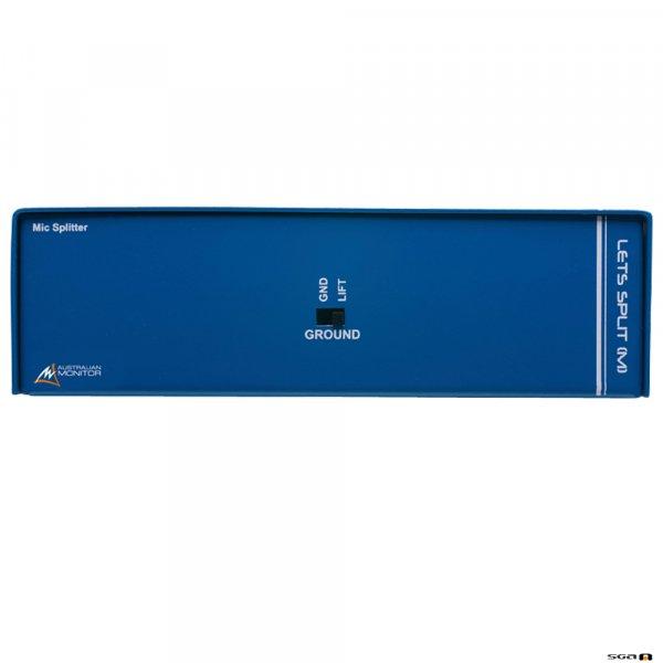 Australian Monitor LETSPLITM balanced mic level splitter w/ balanced XLR mic level input