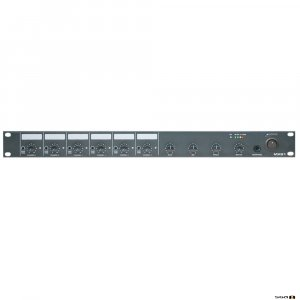 Australian Monitor MX61 6 Channel 1RU mono mixer. six mic/line inputs, one mono output.