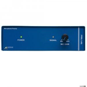 Australian Monitor PREME Microphone Pre-amplifier Mic pre-amp. Dual RCA & XLR input switchable b/w mic/line level.