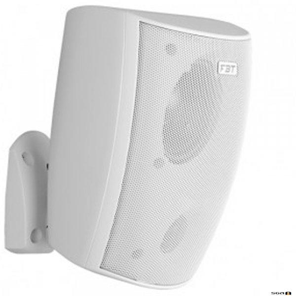 """FBT Project 660WHT Speaker 6.5"""" woofer, 1"""" tweeter two-way ABS loudspeaker WHITE"""
