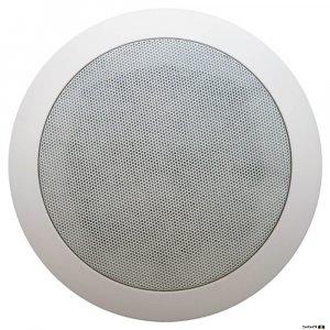 "Australian Monitor QF5CS Dual cone ceiling speaker, 5"" woofer. 100V Taps 6, 3, 1.5, 0.75 watts."
