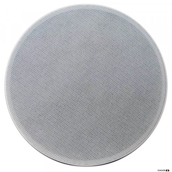 Australian Monitor QFC5CS 2 way coaxial ceiling speaker, 5 inch woofer & 25mm tweeter. 100V Taps 10, 5, 2.5, 1.25 watts. 178mm cut-out.
