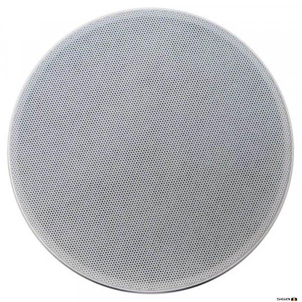 Australian Monitor QFC6CS 2 way coaxial ceiling speaker, 6 inch woofer & 25mm tweeter. 100V Taps 20, 10, 5, 2.5 watts. 208mm cut-out.