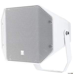 TOA CS760W Two-Way 60W Full Range Music Horn Speaker White with wall mount bracket