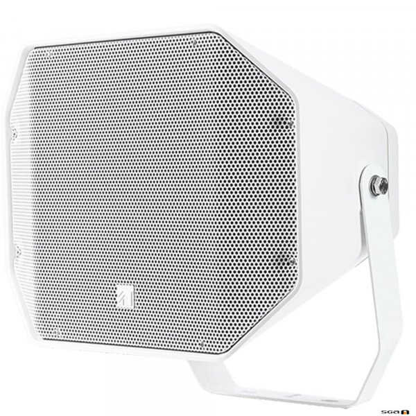 TOA CS760W Two-Way 60W Full Range Music Horn Speaker White with wall mount bracket