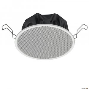 "TOA PC1860 6W 5"" Single Cone Speaker with Metal Grille and spring catch mounting, 80Hz-20kHz, 94dB 150mm"