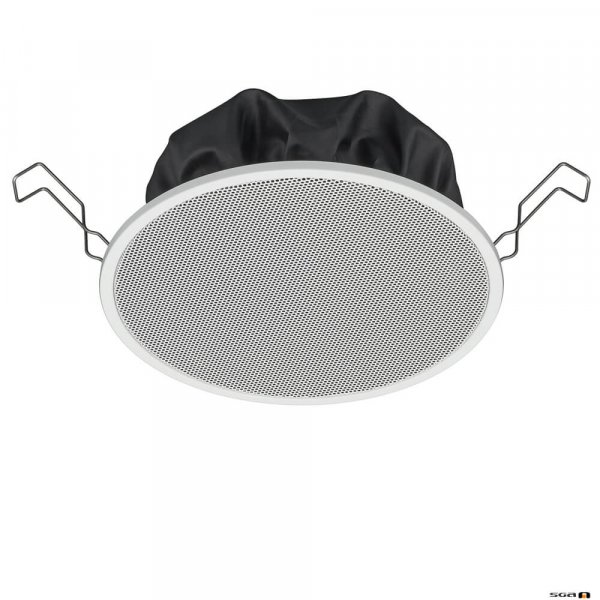 """TOA PC1860 6W 5"""" Single Cone Speaker with Metal Grille and spring catch mounting, 80Hz-20kHz, 94dB 150mm"""