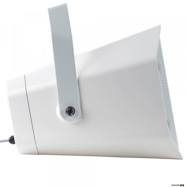 TOA CS760W Two-way 60W Music Horn Speaker with wall mount bracket side view