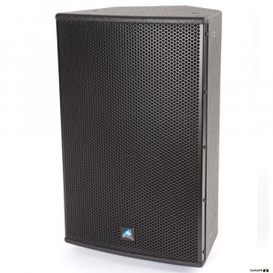 "Australian Monitor XDS10 10 inch Passive Speaker 250W, Black Speaker. 10"" woofer & 1.5"" horn. Black wooden cabinet. Price each"