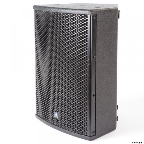"Australian Monitor XDS8 Speaker. 8"" woofer & 1.5"" horn. Black wooden cabinet. Price each"