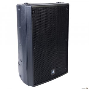 "Australian Monitor XRS12P Self Powered 12"" & 1"" bi amp with mic & line inputs. Black. Price each"