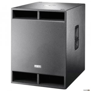 FBT X-Sub18SA powered subwoofer black.