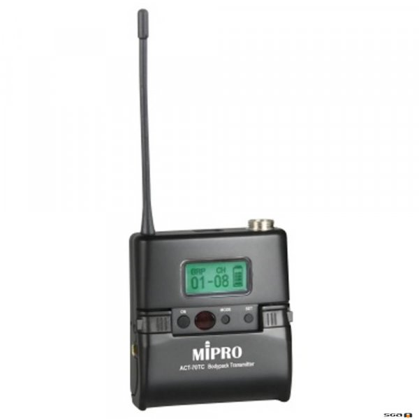 MIPRO ACT70TC Wideband Rechargeable Bodypack Transmitter,