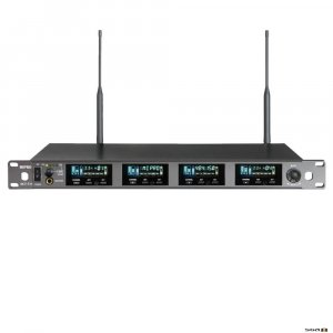 Mipro ACT74 Wideband True Diversity Quad Wireless Receiver