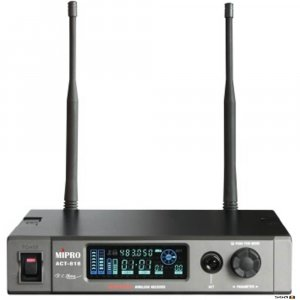 MIPRO ACT818 Wideband Digital Diversity Receiver. 1/2 RU.