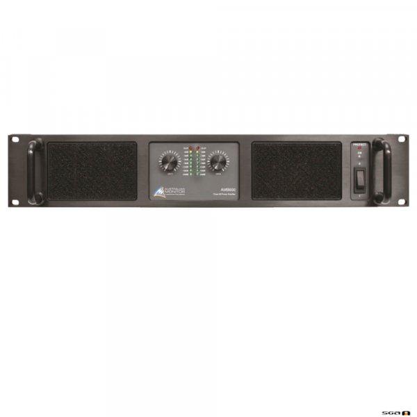 Australian Monitor AMB600 Power Amplifier. 2 x 300w @ 4ohms, 200w @ 8ohms. 240VAC 2RU.