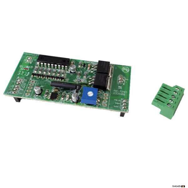 Australian Monitor AMTONE1 Tone generator expansion module to provide EVAC, Alert, Chime and Bell tones to rack mount mixers.