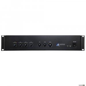 Australian Monitor ES120 120W Mixer Amplifier 4 XLR/dual RCA Inputs
