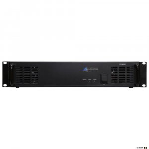 Australian Monitor ES500P power amplifier, 120 watts at 100 volt or 4 ohm, 2 RU