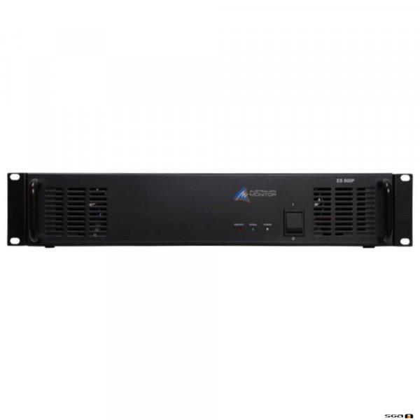 Australian Monitor ES500P power amplifier, 120 watts at 100 volt or 4 ohm, 2 RU