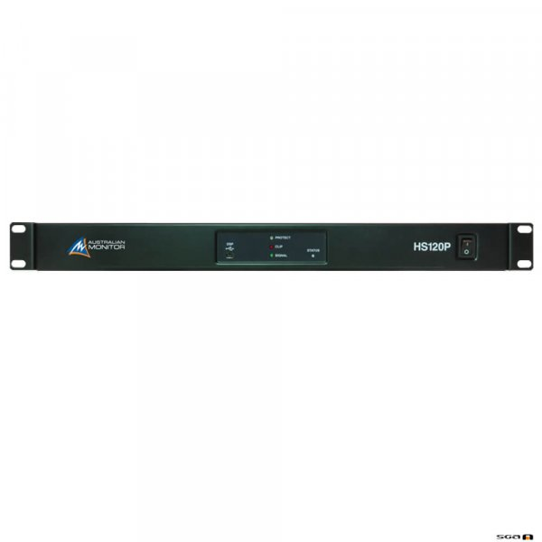 Australian Monitor HS250P 1 x 250W Power Amplifier USB/RS232 control with mini DSP