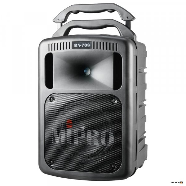 Mipro MA708PA with handle raised