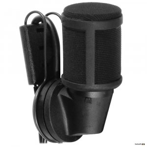 Sennheiser MKE40-EW Cardioid clip-on mic with 3.5mm connector for Evolution transmitters (Bk)