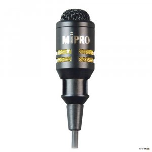 MIPRO MU53L Lapel Microphone for Bodypack Transmitters.