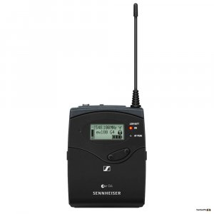 Sennheiser SK100 G4 Bodypack Transmitter front view