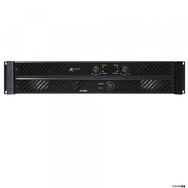 Australian Monitor SY800V Power Amplifier, High Impedence . 2 x 400W @ 100V. 240VAC 2RU.