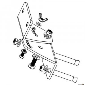 Australian Monitor XR10-12UB Universal Wall Bracket Kit