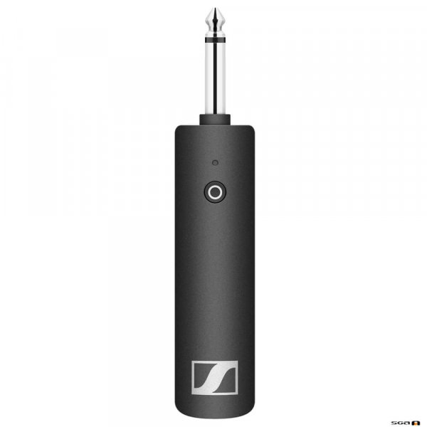 Sennheiser XSW-D Wireless Digital Instrument TX with 6.3mm Jack and charging cable.