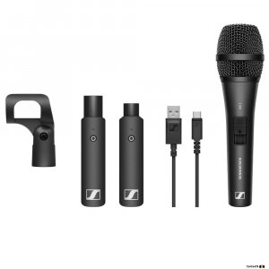 Sennheiser XSW-D Vocal Set Wireless Digital with XS1 Dynamic Mic, Mic Clamp, USB charging cable