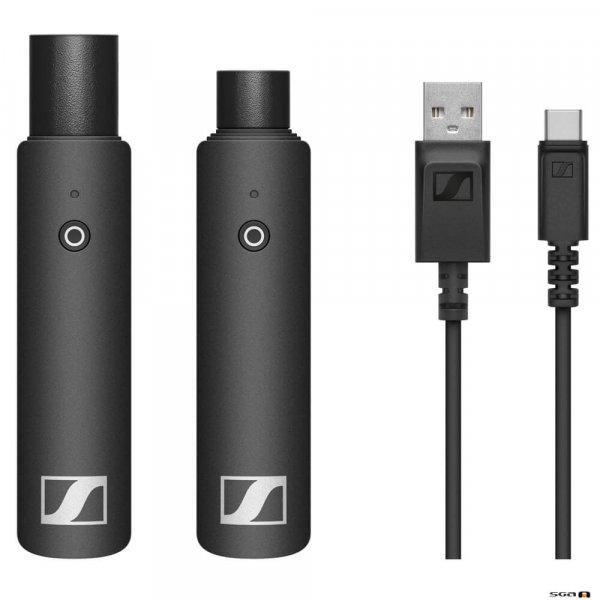 Sennheiser XSW-D XLR Base Set Wireless Digital w/ XLR Female TX, XLR Male RX, USB Charging Cable