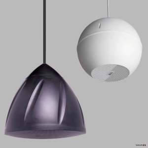 Pendant and Ball Speakers