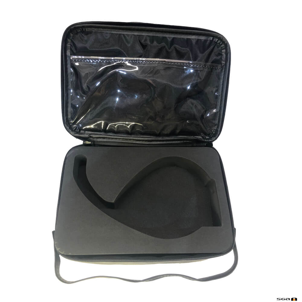 MU Microphone Case with flap open