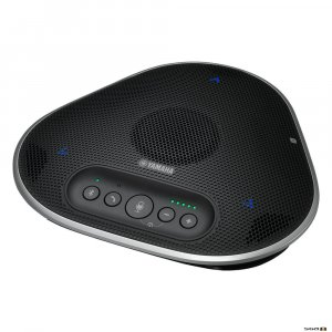 Yamaha YVC330 Portale Conference speakerphone front angled