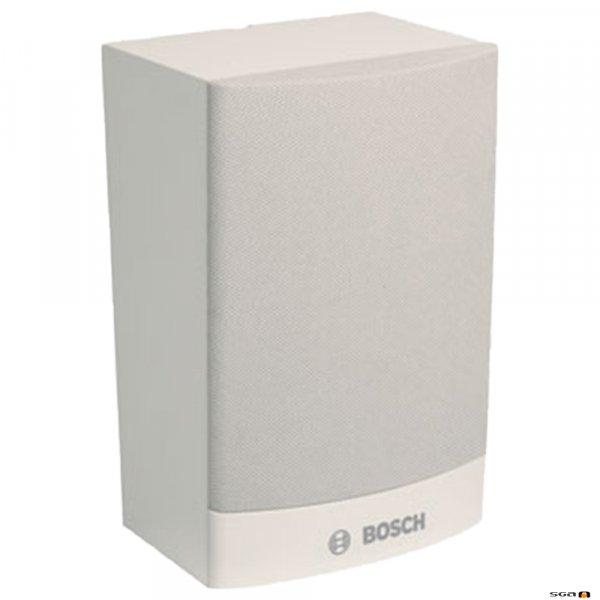 Bosch LB1-UW06V-L white cabinet loudspeaker w/ volume control,