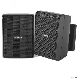 """Bosch LB20-PC15-4D (Black) compact cabinet loudspeaker, 4"""" driver, 15W,"""
